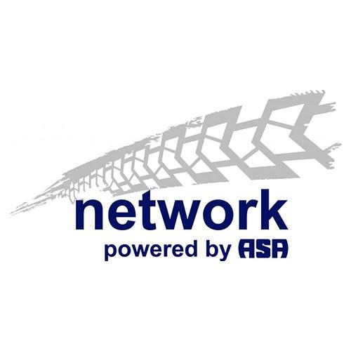 network Logo auf weißem Hintergrund