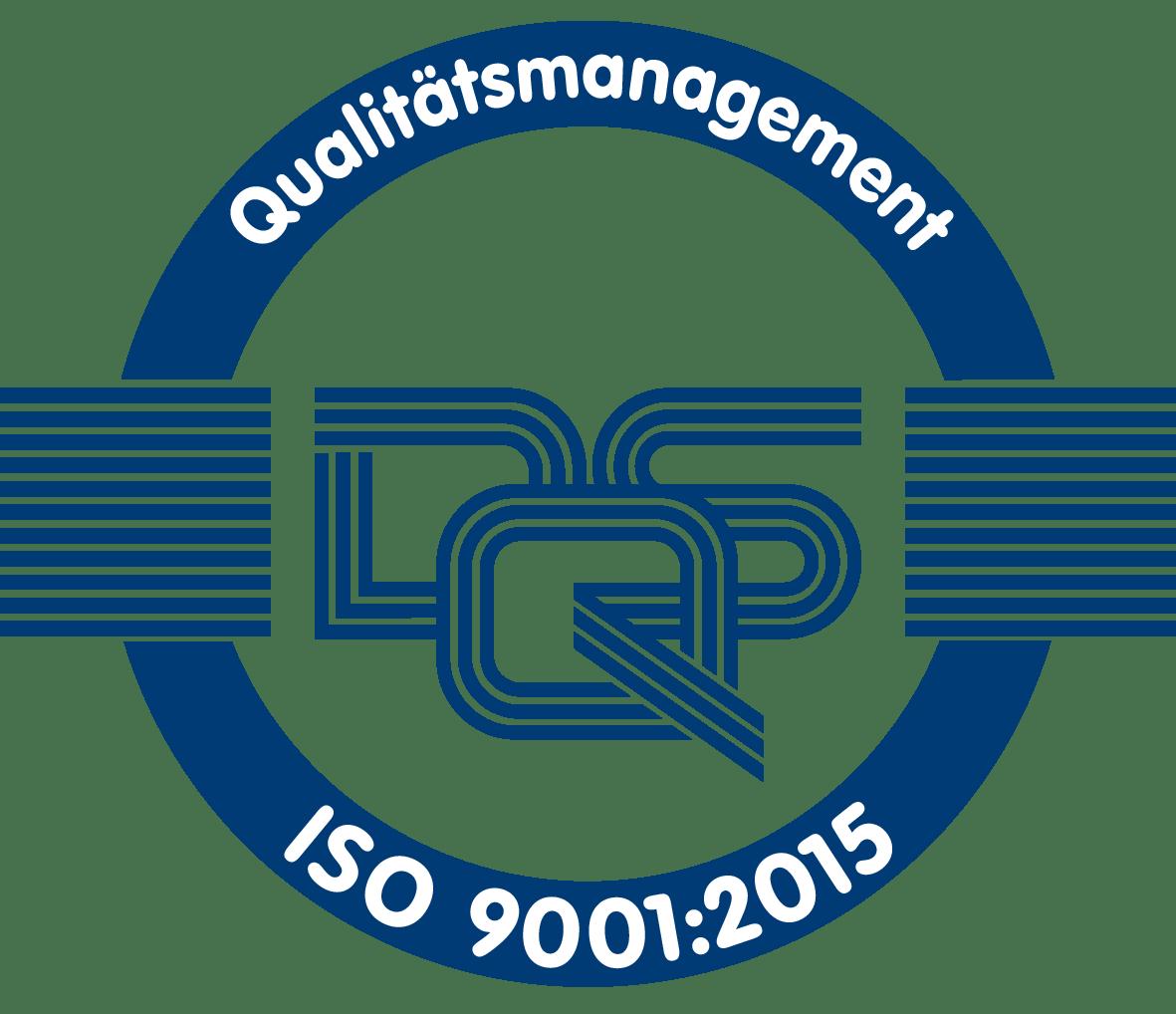 DQS Logo blau auf weiß