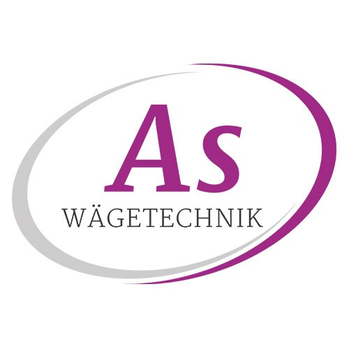 AS Wägetechnick Logo auf weißwm Hintergrund