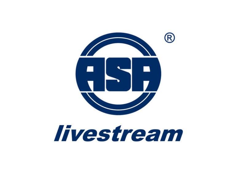 ASA Logo Blau auf Weiß
