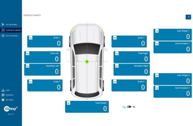 inno!weight® PC Software für Radlastwaagen inkl. USB Funkempfänger SUB-1020